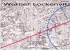 Ansichtskarte Berlin Landkarte Stadtplan Oranienburger Strasse