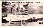 Ansichtskarte Berlin-Köpenick Strandbad Rahnsdorf Gruss vom Müggelsee