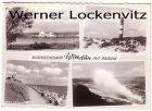 Ansichtskarte Wittdün auf Amrum mehrfach Fähre Schiffe Leuchtturm Strand