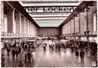 Ansichtskarte Berlin-Tempelhof Zentralflughafen Flughalle Innenansicht Flughafen airport lounge