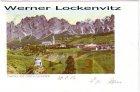 Italia Cortina D'Ampezzo Panorama Ortsansicht