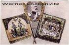 Alte Ansichtskarte S.K.H. Prinz Leopold von Bayern Kuerassiere Flagge