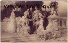 Ansichtskarte Adel Wilhelm II mit Familie