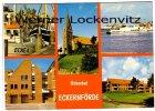 Ansichtskarte Eckernförde Hafen Fischerboote Kirche Dampfer