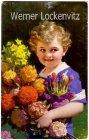 Ansichtskarte Kleiner Junge mit Blumen