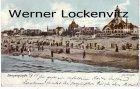 Alte Ansichtskarte Polen Pommern Swinemünde Świnoujście Am Strande