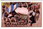 Ansichtskarte 1810 Republica Argentina 1910 Patriotika