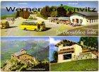 Ansichtskarte Berchtesgaden Der Obersalzberg heute Berghof Göringshügel Kehlsteinhaus Cafe Hintereck Busse Bus