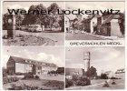 Ansichtskarte 23936 Grevesmühlen mehrfach Busbahnhof August-Bebel-Straße Wasserturm Oberschule