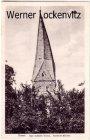 Alte Ansichtskarte Soest Der schiefe Turm Reform-Kirche
