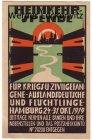 Alte Ansichtskarte Hamburg Heimkehrspende für Kriegs-und Zivilgefangene Auslandsdeutsche und Flüchtlinge