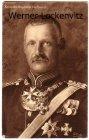 Alte Ansichtskarte Adel Kronprinz Rupprecht von Bayern in Uniform mit Orden
