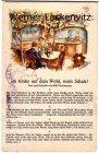Alte Ansichtskarte Ich trinke auf dein Wohl mein Schatz von Willi Ostermann Liedkarte Wein