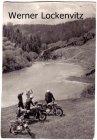 Ansichtskarte Am blauen See bei Rübeland im Harz Motoradfahrer machen Rast