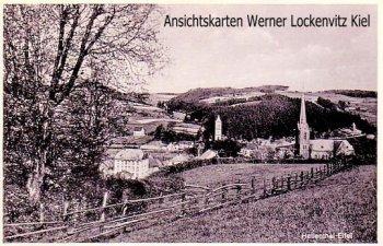 Ansichtskarte Hellenthal Eifel Ortsansicht Panorama