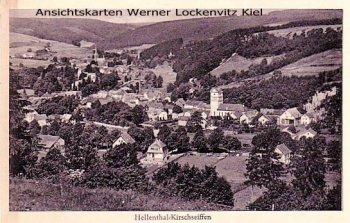 Ansichtskarte Hellenthal-Kirschseiffen Eifel Ortsansicht Panorama