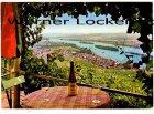 Ansichtskarte Rüdesheim am Rhein Panorama Ortsansicht Wein