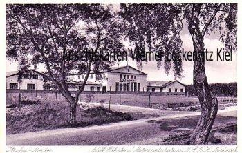 Ansichtskarte Itzehoe-Nordoe Adolf Hühnlein Motorsportschule des NSKK Nordmark