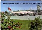 Ansichtskarte Zürich Airport Flughafen mit Boeing 747