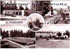 Ansichtskarte Altkirchen bei Schmölln Ortsmotiv Dorfmuseum Freibad Speisenbar