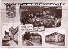 Ansichtskarte Kirn Nahe Hotel Zur Burg Bes. A. Horlebein Schloß Dhaun