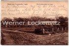 Ansichtskarte Hohenlockstedt Lockstedter Lager Wellblechbaracken im Lager