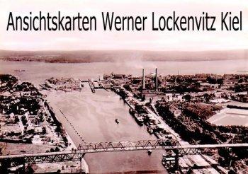 Ansichtskarte Kiel-Holtenau Kanal Luftaufnahme