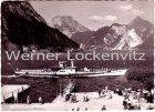 Ansichtskarte Dampfer Elisabeth mit Landungsplatz in Ebensee am Traunsee Österreich
