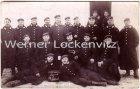 Alte Ansichtskarte Dallgow-Döberitz Truppen-Übungsplatz Soldatengruppe Fotokarte