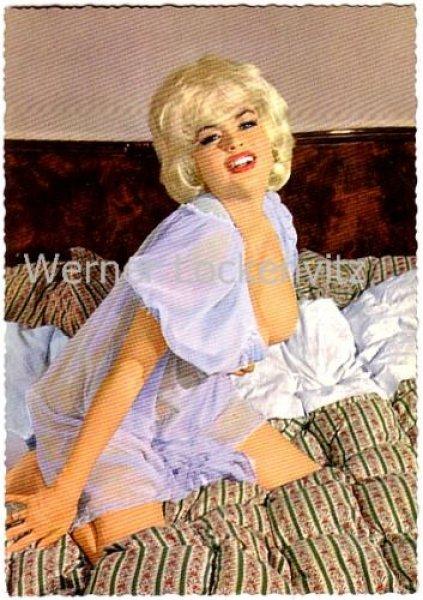 Postcard USA Actress Jayne Mansfield