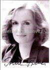Ansichtskarte Autogrammkarte Lindenstraße Schauspielerin Irene Fischer als Anna Ziegler mit Originalautogramm