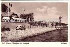 Ansichtskarte Kiel-Holtenau Wartehalle und Fliegerhorst