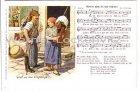 Alte Ansichtskarte Gruß aus dem Erzgebirge Liedkarte Verlag Wilhelm Vogel Schwarzenberg Nr. 16