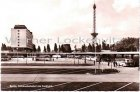 Ansichtskarte Berlin Autobusbahnhof am Funkturm