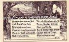 Ansichtskarte Nur ein Hauch von Zeit. von H.v.R. Religion G. Röder Nr. 184 Emil Müllers Verlag Barmen