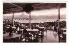 Ansichtskarte Feldafing am Starnberger See Hotel Kaiserin Elisabeth Teil der Terrasse
