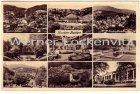 Ansichtskarte Baden-Baden mit Landpoststempel Schiftung über Steinbach