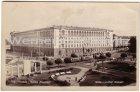 Ansichtskarte Bulgarien България Sofia Hotel Balkan mit Straßenbahn
