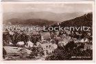 Ansichtskarte Baden-Baden-Lichtental Panorama Ortsansicht mit Landpoststempel Schiftung über Steinbach