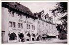 Ansichtskarte 07318 Saalfeld Saale Hotel Anker früher Güldne Gans Inh. H. Rexrodt und Söhne