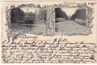 Alte Ansichtskarte 23936 Kirch-Mummendorf bei Grevesmühlen Herrenhaus Gut Eingang Adelskorrespondenz