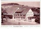 Ansichtskarte 79761 Waldshut-Tiengen am Hochrhein Indlekofen Aispel Gasthaus zum Deutschen Adler