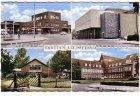 Ansichtskarte Ansichtkaart Groeten uit Sittard mehrfach Station Jeugdherberg Stadsschouwburg