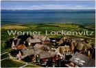 Ansichtskarte Hallig Oland Ortsansicht Luftbild