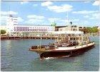 Ansichtskarte Friedrichshafen Fährschiff Schussen im Hafen