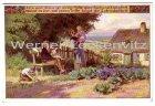 Ansichtskarte Arm und klein ist meine Hütte Nr. 91 Volksliederkarte von Paul Hey