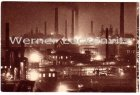 Ansichtskarte 66333 Völklingen Saar Eisen-Werke bei Nacht