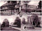 Ansichtskarte 66346 Püttlingen Saar mehrfach Park Straße Gebäude