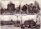 Ansichtskarte 66346 Püttlingen Saar mehrfach Turm Brücke mit Kreissparkasse Panorama Haus
