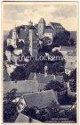 Ansichtskarte Hohnstein Ortsansicht mit Jugendburg Sächsische Schweiz